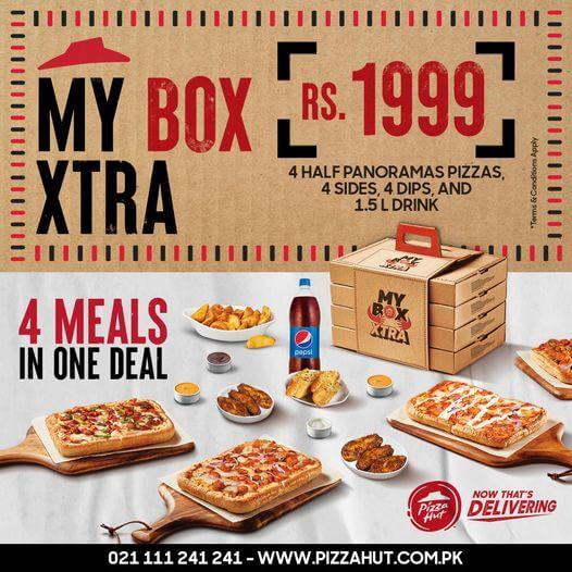 Pizza Hut - My Box Deal