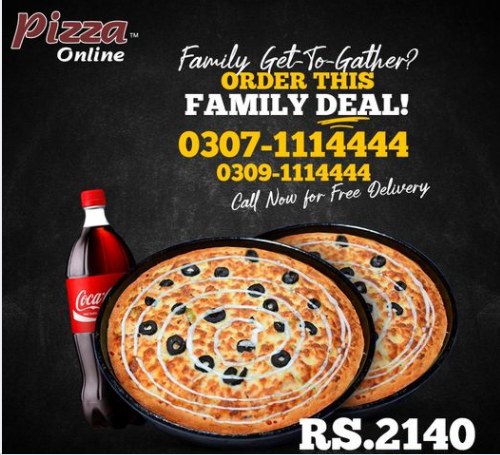 Pizza Online - Family Deal