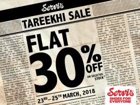 Servis Shoes - Tareekhi Sale
