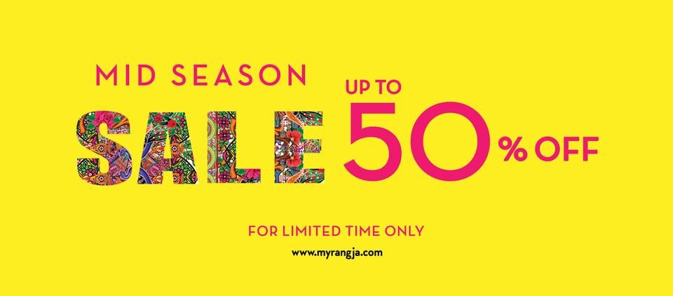 Rang Ja - Mid Season Sale