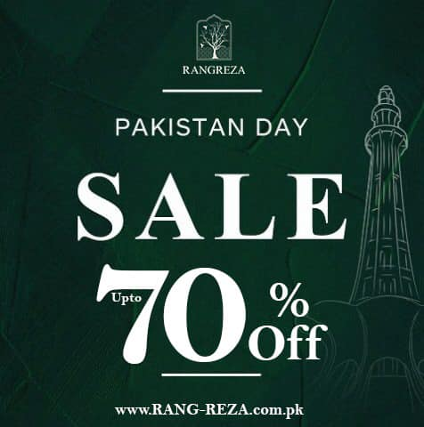 RangReza - Pakistan Day Sale