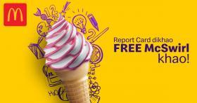 Mcdonalds - Free McSwirl