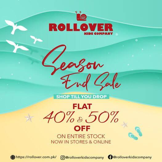 Rollover - Season End Sale