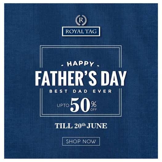 Royal Tag - Father's Day Sale