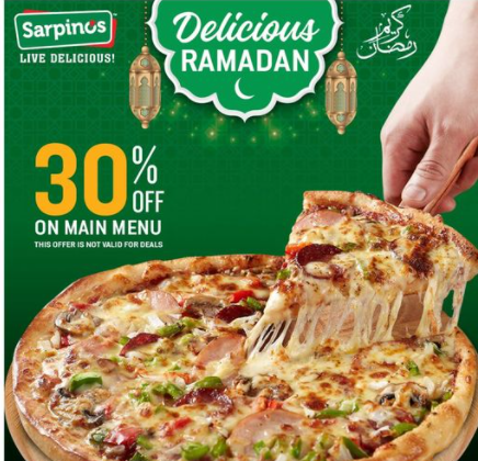 Sarpino's - Ramzan Deal