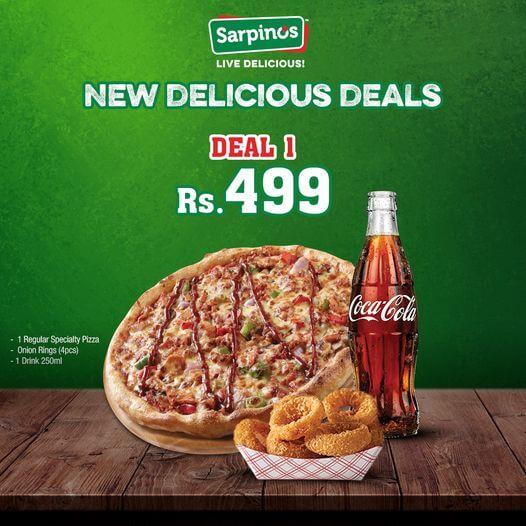 Sarpino's - Delicious Deal