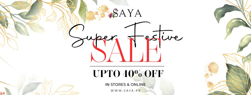 SAYA - Festive Sale