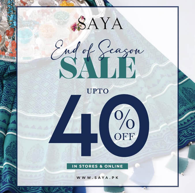 SAYA - End Of Season Sale