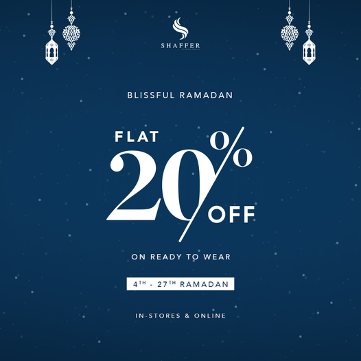 Shaffer - Ramzan Sale