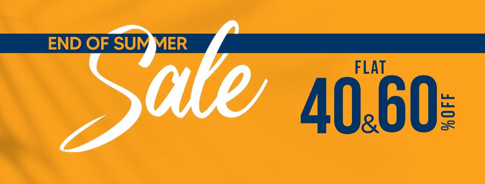 Shahzeb Saeed - End Of Summer Sale