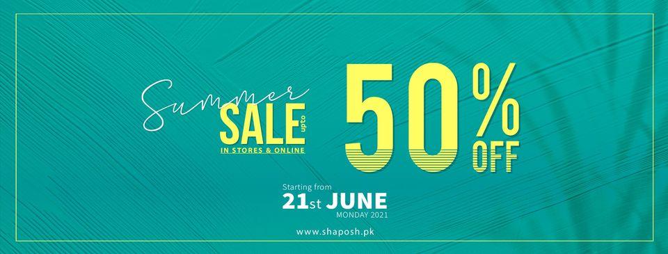 ShaPosh - Summer Sale