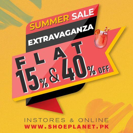 Shoe Planet - Summer Sale