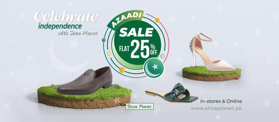 Shoe Planet - Azadi Sale