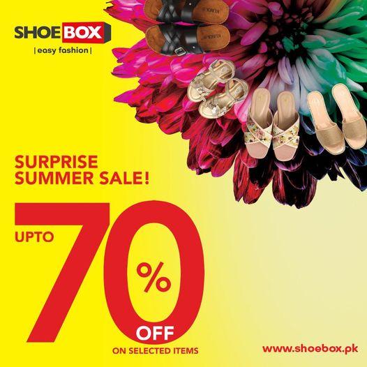 Shoebox Pakistan - Surprise Summer Sale