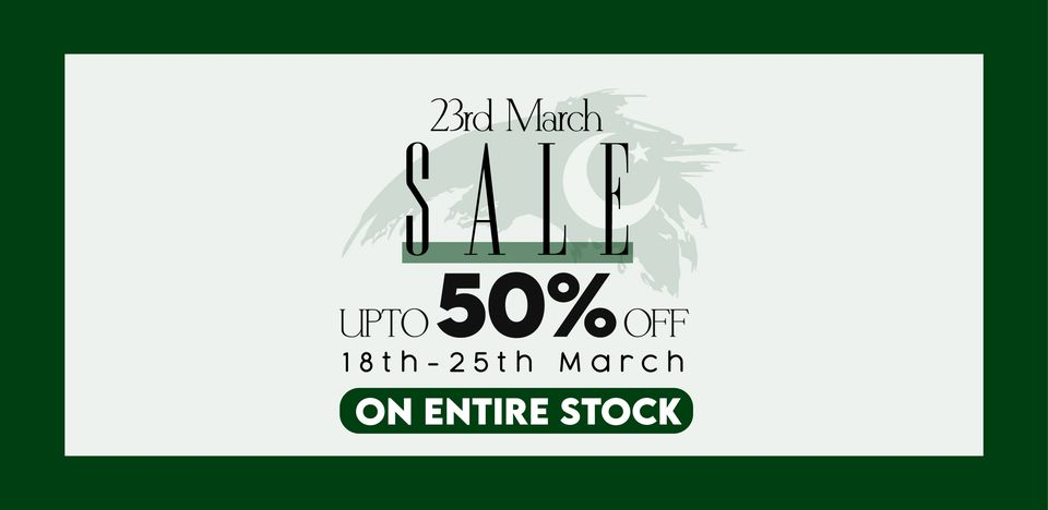 Sifona - Pakistan Day Sale
