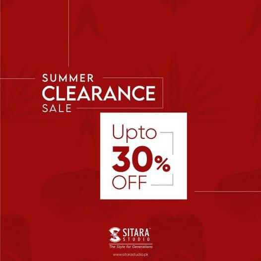 Sitara Studio - Summer Clearance Sale