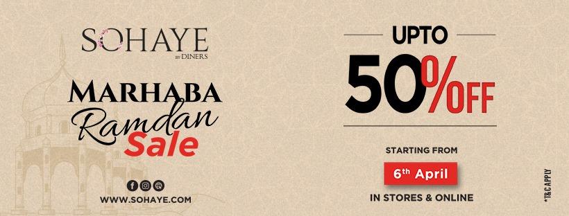 Sohaye - Ramadan Sale