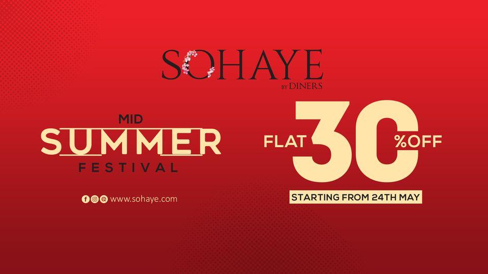 Sohaye - Mid Summer Sale