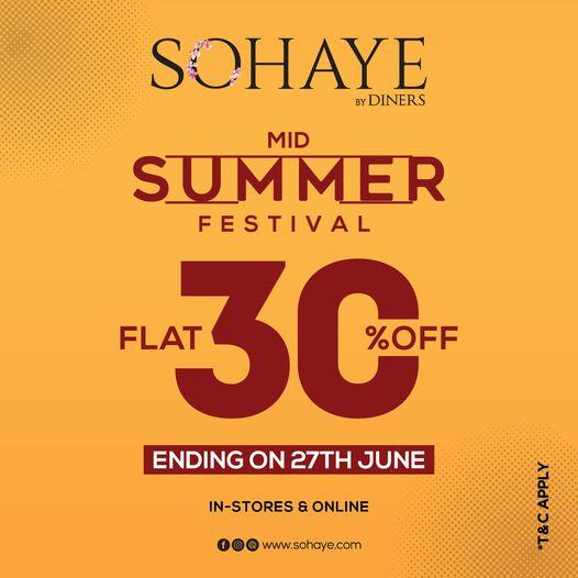 Sohaye - Mid Summer Festival Sale
