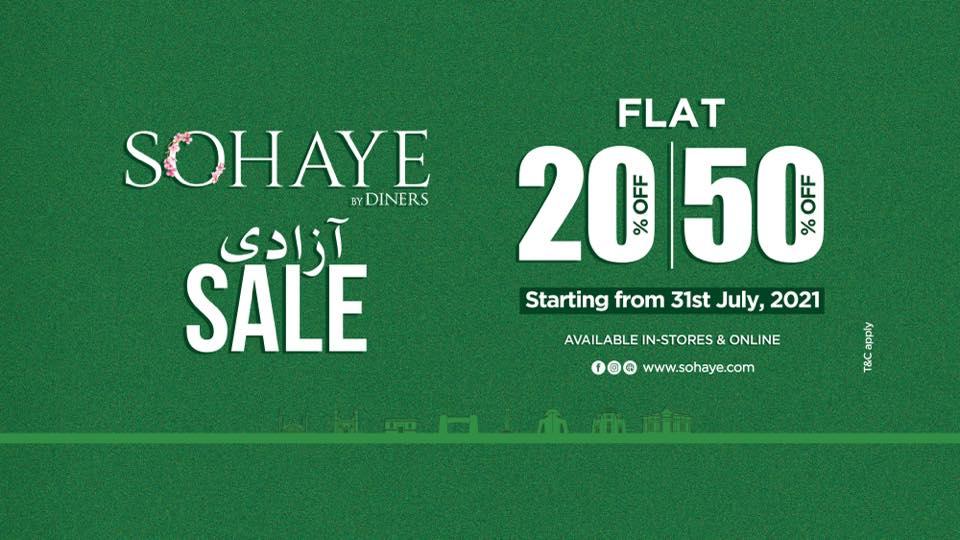 Sohaye - Independence Day Sale