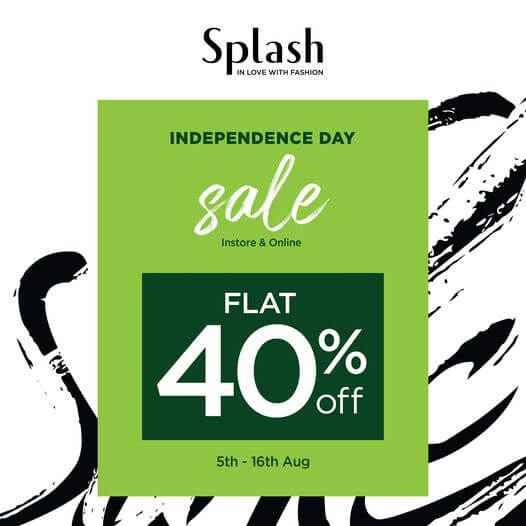 Splash Pakistan - Independence Day Sale