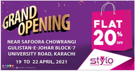 Stylo Shoes - Opening Sale