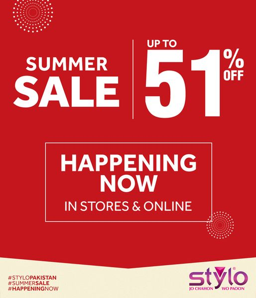 Stylo Shoes - Summer Sale
