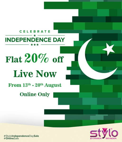 Stylo Shoes - Independence Day Sale