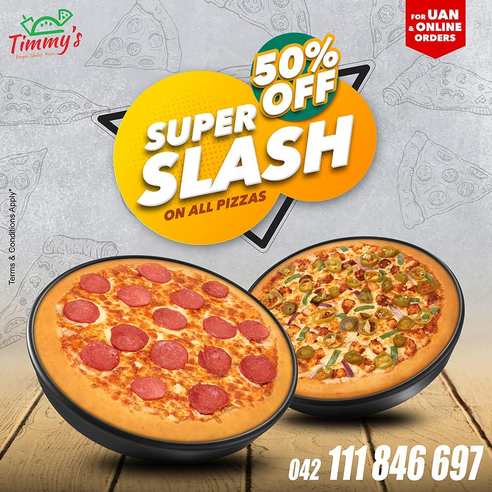 Timmy's - Super Splash Sale