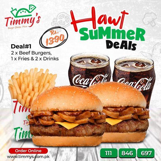 Timmy's - Summer Deal