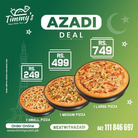 Timmy's - Azadi Deal 2