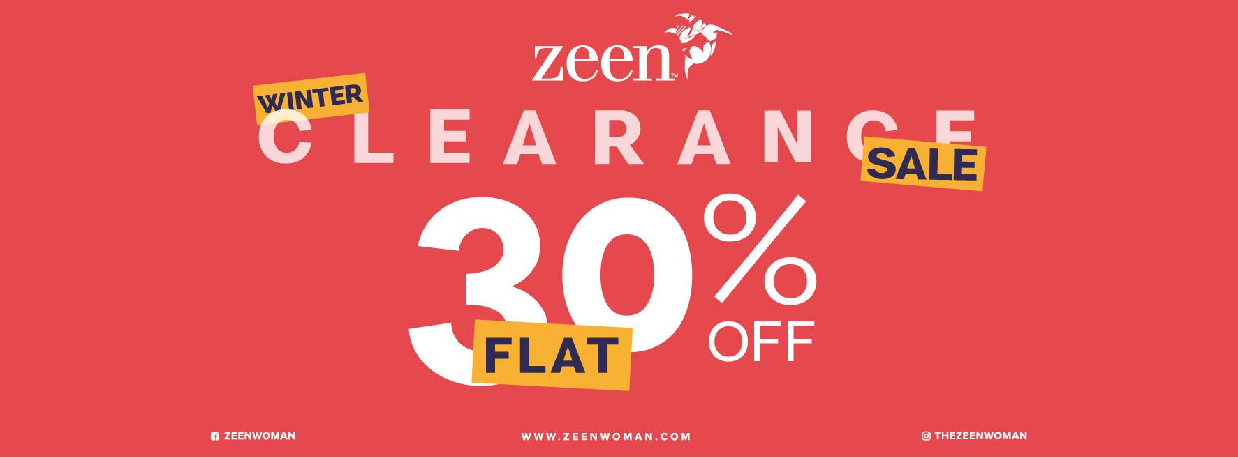 Zeen - Winter Clearance Sale