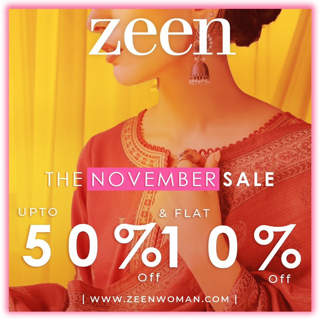 Zeen - November Sale