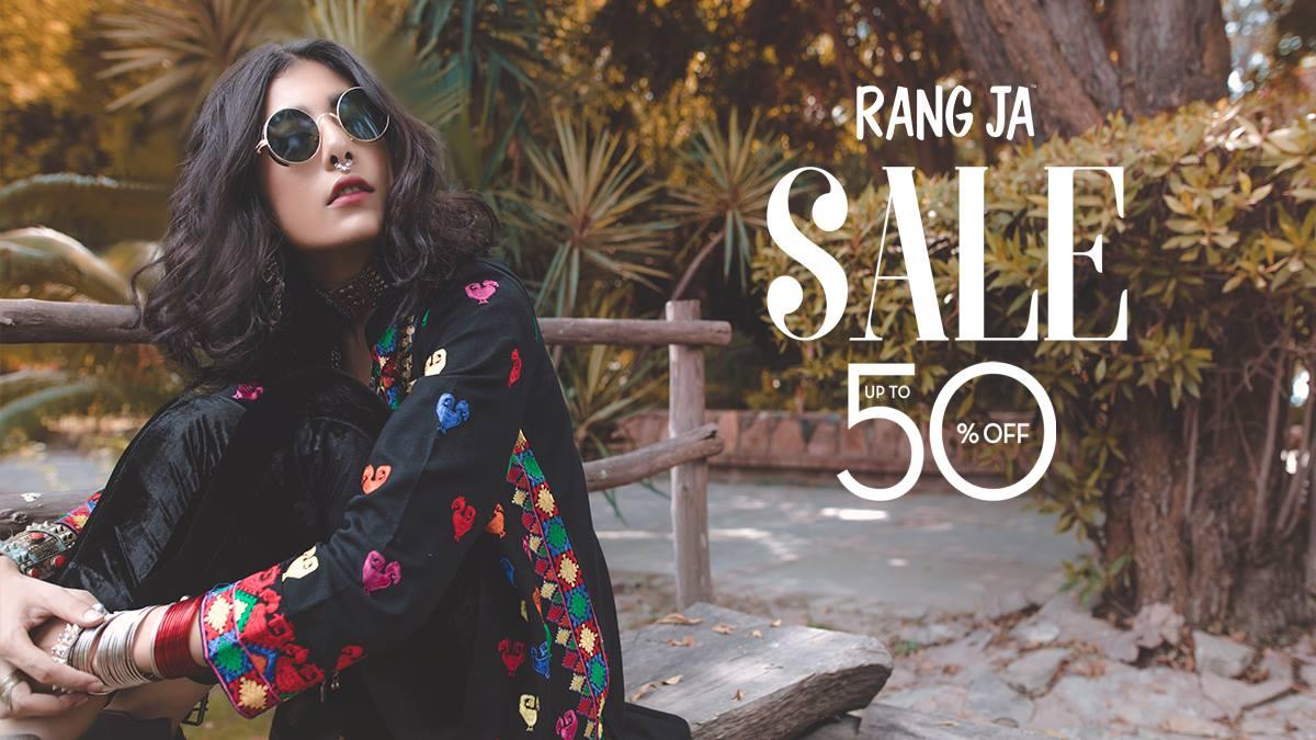 Rang Ja -  End Of Season SALE Is Live!