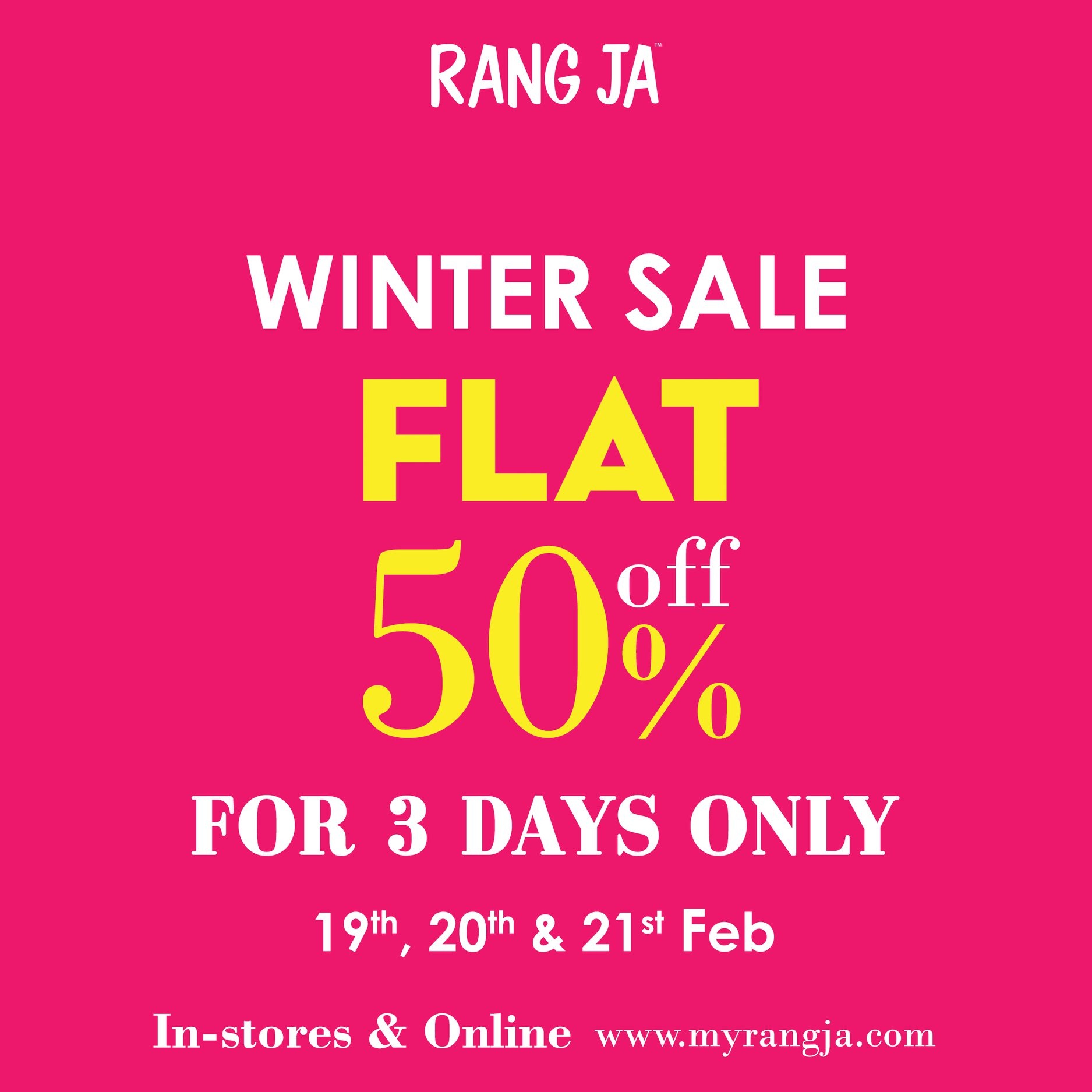 Rang Ja - Winter Sale