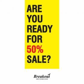 Breakout - Sale