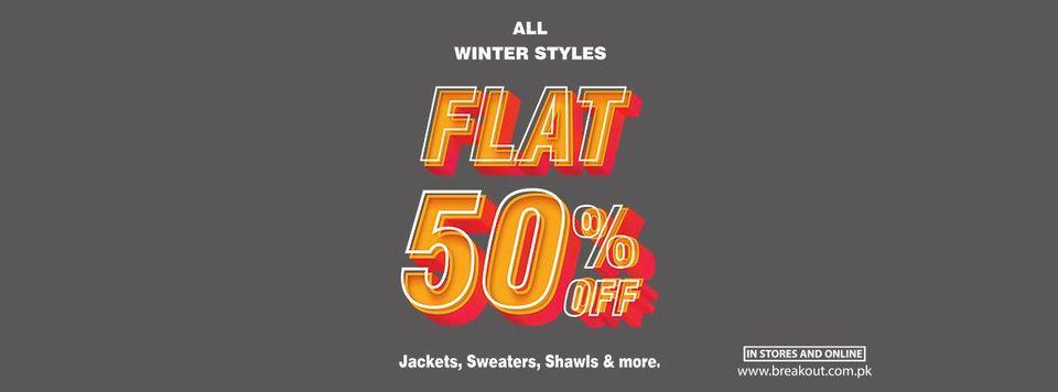 Breakout - Winter Stylis Sale