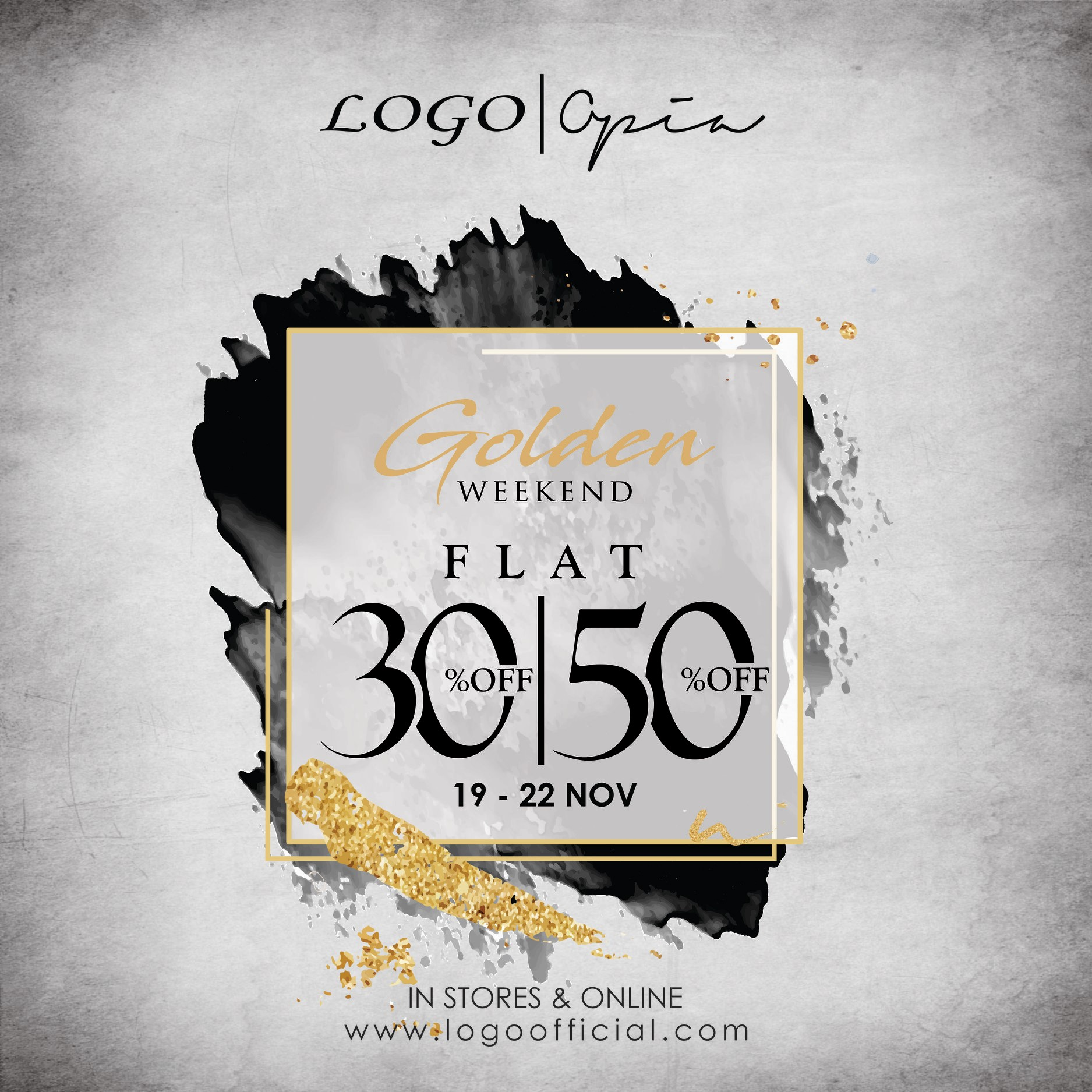 Logo - GOLDEN WEEKEND