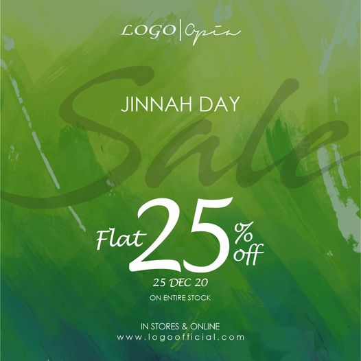 Logo - Jinnah Day Sale