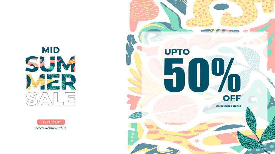 Warda - Mid Summer Sale