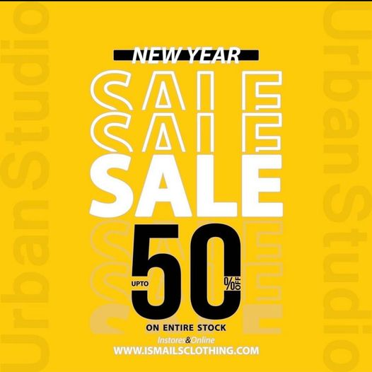 Ismail's - New Year Sale