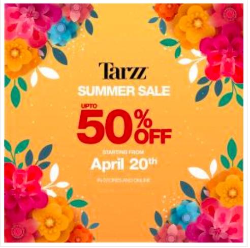 Tarzz - Summer Sale 19'
