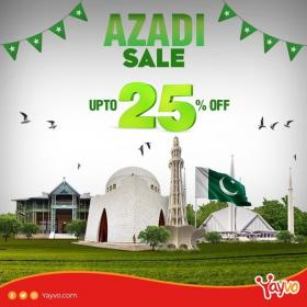 Yayvo.com - Azadi Sale