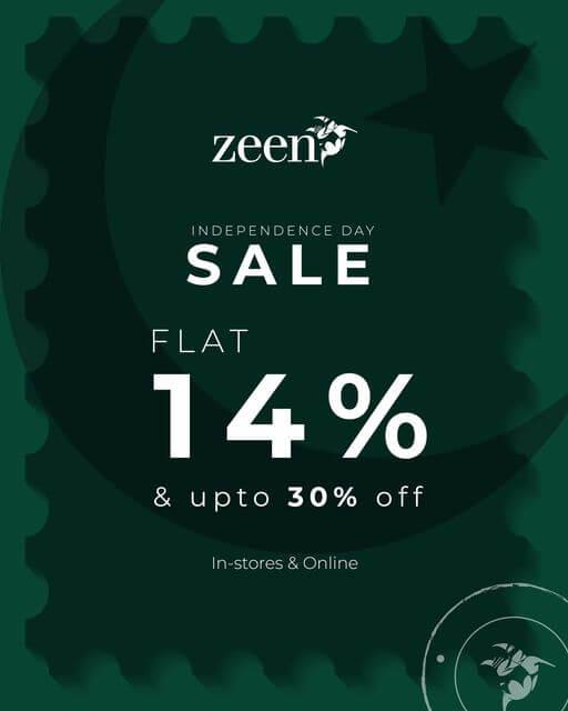 Zeen - Independence Day Sale