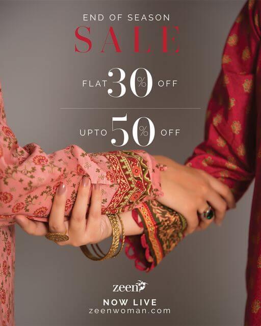 Zeen - End Of Season Sale