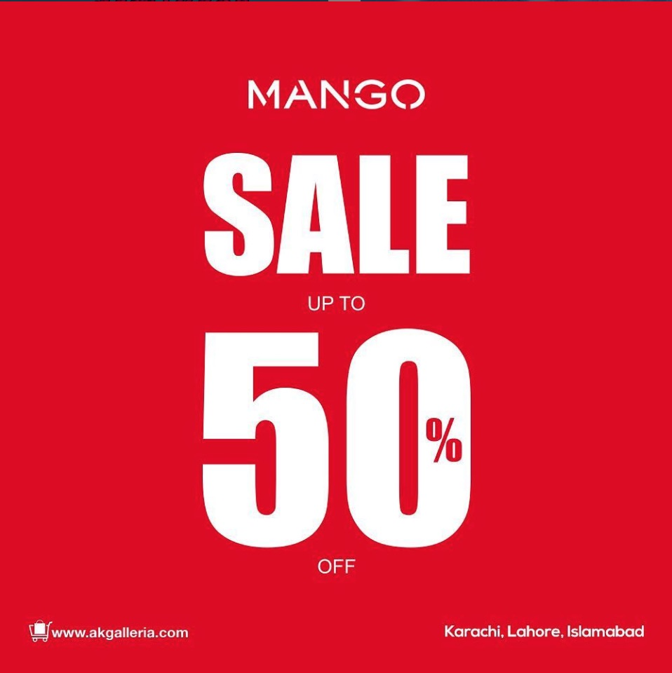 Mango Pakistan - End Of Season #Sale