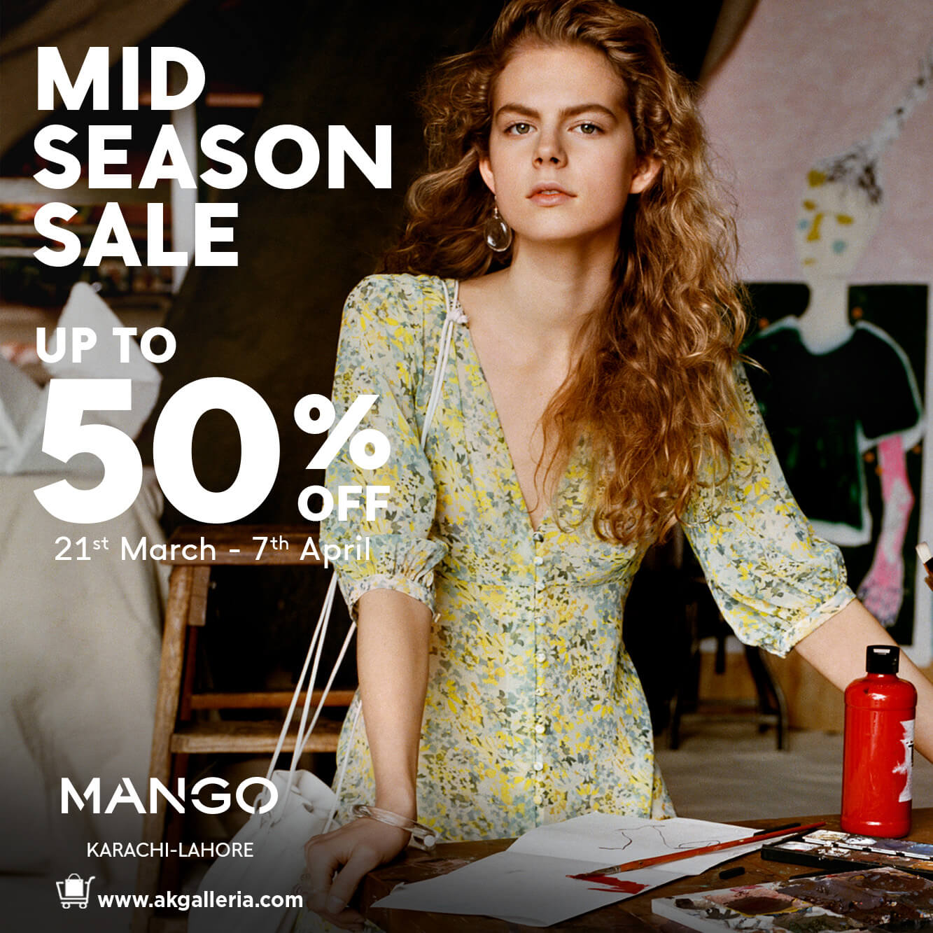 Mango Pakistan - Mid Season Sale
