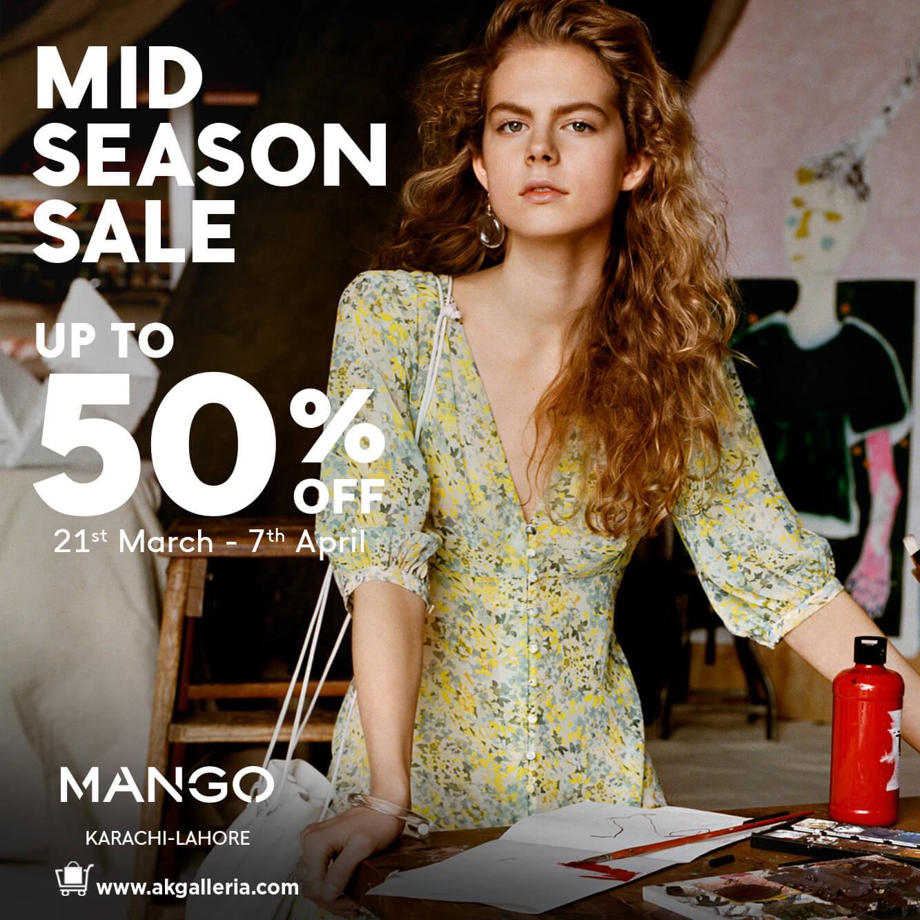 Mango Pakistan - Mid Season Sale