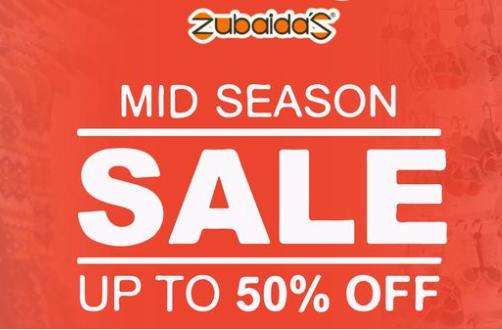 Zubaidas - Mid Season Sale