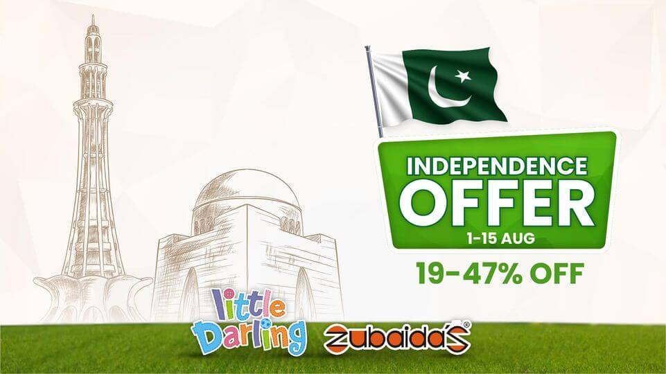 Zubaidas - Independence Day Sale